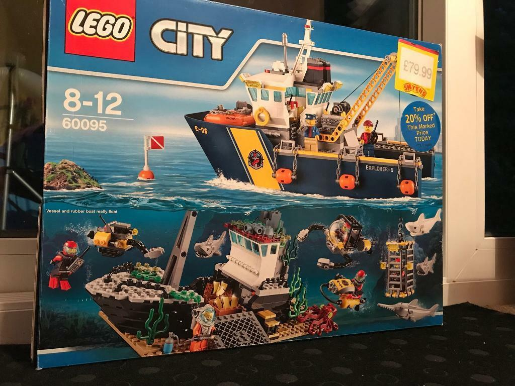 LEGO 60095 City Deep Sea Exploration Vessel