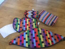 Missoni fabric set for Bugaboo Cameleon 3