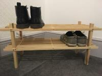 Argos shoe rack
