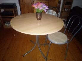 Bistro/Dining Table + 2 Chairs