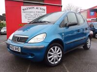 2002 Mercedes-Benz A140 1.4 Classic - FULL SERVICE HISTORY - 1 FORMER KEEPER