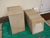paving stones for patio (indian sandstone)