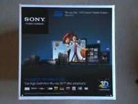 Sony 3D Blu-Ray Home Cinema Surround Sound System – Boxed Like New