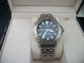 OMEGA SEAMASTER AMERICAS CUP 300M FULL SIZED AUTOMATIC LIMITED EDITION WATCH