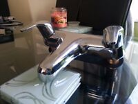 Chrome bath taps as new condition
