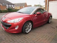 JUST REDUCED - Peugeot RCZ GT (THP 200) in stunning condition