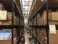 JOB LOT industrial shelving, ( pallet racking , storage )