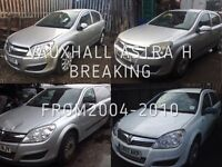 VAUXHALL ASTRA 5 DOOR FROM 2005 ONWARDS OVER 20 IN STOCK BREAKING FOR SPARES
