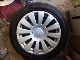 5x112 5x100 Alloys Wheels With Winter Tyres 255 40 18