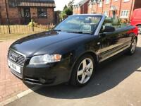 Audi A4 2.0tdi diesel convertible cabriolet fsh 12m Mot full leather