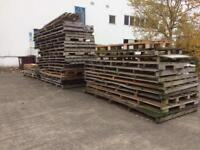 FREE Long pallets / wood/fence ?