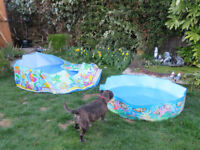 Two Paddling Pools