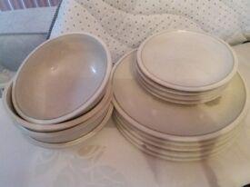 Plates, Bowls & Dinner plates *Denby 2nds*