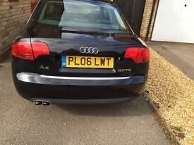 Audi A4, with full service history, full black leather, in a brilliant condition.