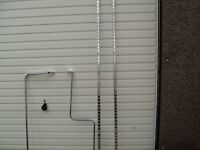 Like new shop garment rails bargain !!!!!!!!!!!!!!!!!!!!!!!!!!! REDUCED REDUCED REDUCED