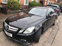 Mercedes-Benz, E CLASS, Coupe, 2010, Semi-Auto, 2143 (cc), 2 doors