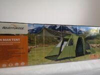 Adventuridge 4 man tent new