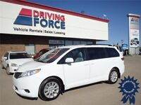 2013 Toyota Sienna LE All Wheel Drive Van - Who Rides Shotgun?