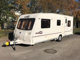 Bailey Pageant Sries 5 Provence *5 berth* + mover + 3 month Appliance warranty