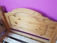 3ft single pine bed