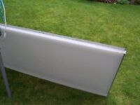 Polycarbonate roofing sheets x 4 USED@£12 EACH SHEET!