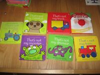 SELECTION OF 7 TOUCHY FEELY BOOKS - All In Good Condition