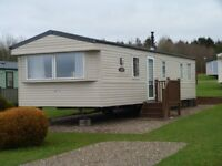 STATIC CARAVAN FOR SALE ON QUIET 5* SITE NEAR ABERAERON, WEST WALES. 2018 SITE FEES INCLUDED !!