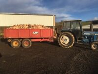 Hardwood logs for sale, approx 4.5 cube load