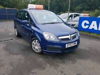 Vauxhall Zafira 2007, 7 Seater, Finance available today, 12 months MOT.