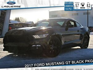 2017 Ford Mustang GT**BLACK PKG*RECARO*CAMERA*BLUETOOTH*DÉMARREU