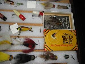 ANTIQUE FLYROD LURE COLLECTION Kawartha Lakes Peterborough Area image 7