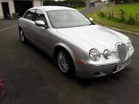 Jaguar S type with automatic transmission full service history MOT'd to May 2018