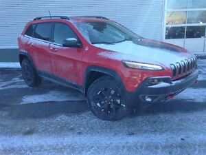 2017 Jeep Cherokee Trailhawk +Cuir, Nav, Bluetooth+