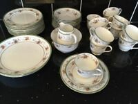 40 piece vintage china tea set by Williamson & Sons