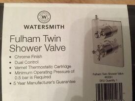 Watersmith Fulham Twin Shower Valve