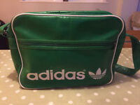 ADIDAS Green Retro Bag