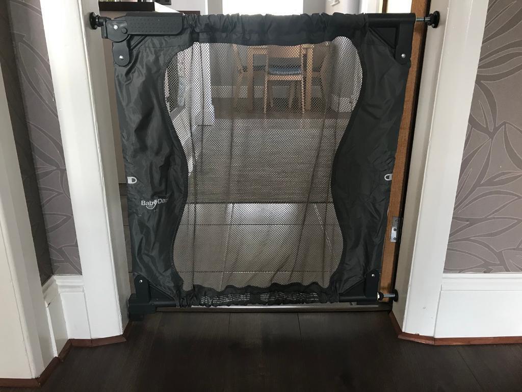 BabyDan Safety gate ToGo (portable) in grey