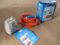 Mobile Fused & Surge Protected Mains Supply Unit for camping, tent, caravan, etc. Brand new