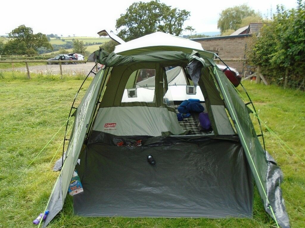 best service 50cf5 3053c coleman instant tourer 4 man pop up tent | in Ross-on-Wye, Herefordshire |  Gumtree
