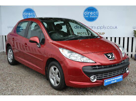 PEUGEOT 207 Can't get car finance? Bad credit, unemloyed? We can help!