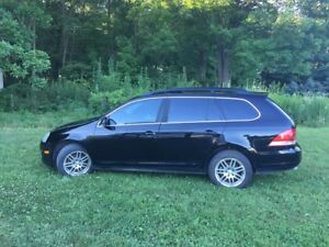 VW JETTA WAGON 2009