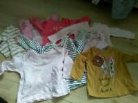 Bundle 3-6 month baby girl clothes