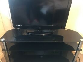 32 inch TV with remote and stand