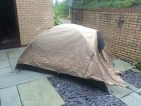Jack Wolfskin 2 man tent . This is a mountain tent but obviously ideal for festivals etc . I
