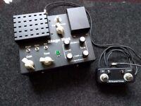 Stephenson Stage Hog v8 distortion pedal and amplifier