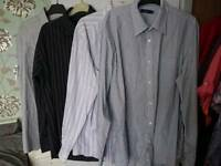 Mens shirts size large 16.5 neck