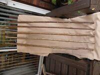 hazel shafts for stick making