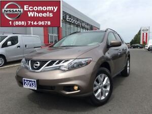 2013 Nissan Murano SL / ONE OWNER / LOW KM