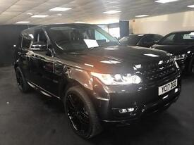 "LANDROVER RANGE ROVER SPORT 3.0V6 HSE. 7 SEATS PANORAMIC ROOF 22""ALLOYS"