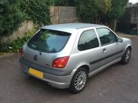2002 Ford Fiesta Zetec S 1.6 3dr with Low Mileage For Sale